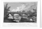 Macclesfield Bridge, Regent's Park, Marylebone, London by R Acon