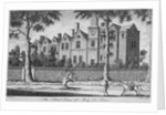 View of the school house at St Marylebone, London by