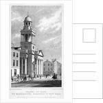 Chapel of Ease which might also be Christ Church, Cosway Street, Marylebone, London by Thomas Dale