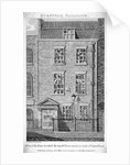 House that the artist James Barry lived in, Eastcastle Street, Marylebone, London by Thomas Prattent