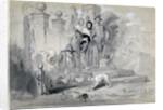 Hudibras in the Stocks by Sir John Gilbert