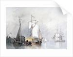 A Dutch Hay Barge by