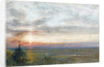 Venice from the Mainland by Albert Goodwin