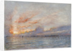 The Lagoons, Venice by Albert Goodwin
