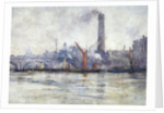 Waterloo Bridge and St Paul's from the Embankment by Emily Murray Paterson