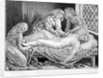 Three Nurses tending a Wounded Soldier by