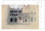 La Chapelle du Sang de Dieu, Bruges by Sir John Gilbert