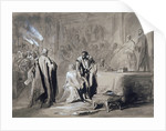 Othello and Desdemona before the Senate by Sir John Gilbert
