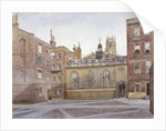 View of Clifford's Inn and Hall, London by John Crowther