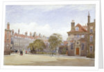 View of New Inn, Wych Street, Westminster, London by John Crowther