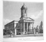 West Hackney Church on the east side of Stoke Newington Road, London by Anonymous