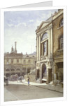 Watermen's and Lightermen's Hall, St Mary at Hill, City of London by John Crowther