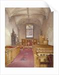 Rolls Chapel, Chancery Lane, London by John Crowther