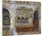 Rahere's tomb, St Bartholomew's Priory, City of London by