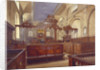 Interior of the Church of All Hallows the Great, City of London by