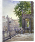 View of the entrance to Gray's Inn Hall, South Square, London by John Crowther
