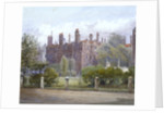 Old Buildings and gardens, Lincoln's Inn, London by John Crowther