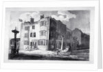 South-east view of Horns Tavern, Kennington, Lambeth, London by Anonymous