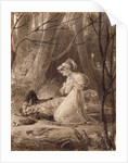 Scene from George Crabbe's Tales of the hall by Henry Corbould