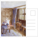 Woman Reading a Letter by