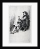 Seated Man, in Doublet and Cloak by Charles Samuel Keene