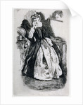 Lady in Elizabethan Dress by