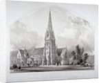St Matthew's Church, Bedford New Town, St Pancras, London by George Hawkins