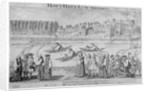 Bishops rowing on the River Thames, London by M Bavavinet