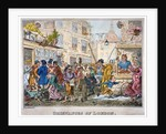 Grievances of London by George Cruikshank