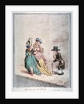 A corner, near the Bank; - or - an example for fathers by James Gillray
