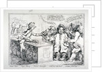Bank-notes - paper money - French alarmists... by James Gillray