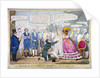 A frolic at the melon shop in Piccadilly by Isaac Robert Cruikshank