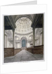 Church of St Stephen Walbrook, City of London by Frederick Nash