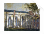 View of Temple Church, London by