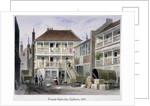 The French Horn Inn, Holborn, London by Thomas Hosmer Shepherd