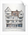 Buildings in Long Lane, Smithfield, City of London by Charles James Richardson