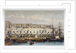 Brewer's Quay, Chester Quay and Galley Quay, Lower Thames Street, City of London by Thomas Hosmer Shepherd
