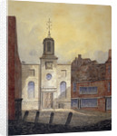 View of Holy Trinity Church, Minories, City of London by