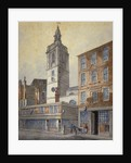 View of St Dionis Backchurch, City of London by