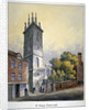 Church of St Mary Somerset, City of London by William Pearson