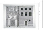 Threadneedle Street front, Merchant Taylors' Hall, City of London by Anonymous