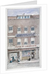 View of the Duke of Cambridge Tavern, Shoe Lane, City of London by