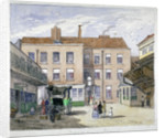 View of the Saracen's Head Inn, Snow Hill, City of London by Anonymous