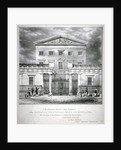 View of the National Provincial Bank at no 112 Bishopsgate Street, City of London by Anonymous
