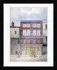 The Rose Inn, Farringdon Street, City of London by Frederick Napoleon Shepherd