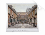 View of Queen's Court, Upper Ground Street, Southwark, London by Robert Blemmell Schnebbelie