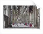 Interior of Westminster Abbey, London by Anonymous