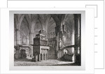 Interior of the Chapel of King Edward the Confessor, Westminster Abbey, London by John Coney