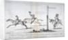 Westminster Races... by Isaac Cruikshank