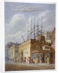 Demolition of the Church of St Dunstan in the West, Fleet Street, City of London by Anonymous